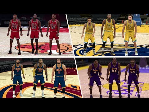 WHICH SUPER TEAM IS THE GREATEST OF ALL TIME? NBA 2K17 GAMEPLAY!
