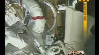 LIVE 神舟七号出舱 翟志刚 太空行走 ShenzhouVII Space Walk ★part 1★