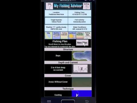 My fishing advisor 2 0 youtube for My fishing advisor