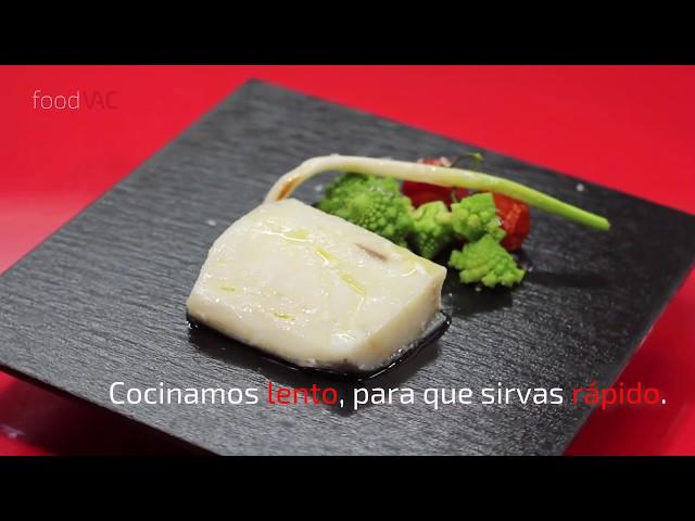 Regeneración de Bacalao Confitado foodVAC
