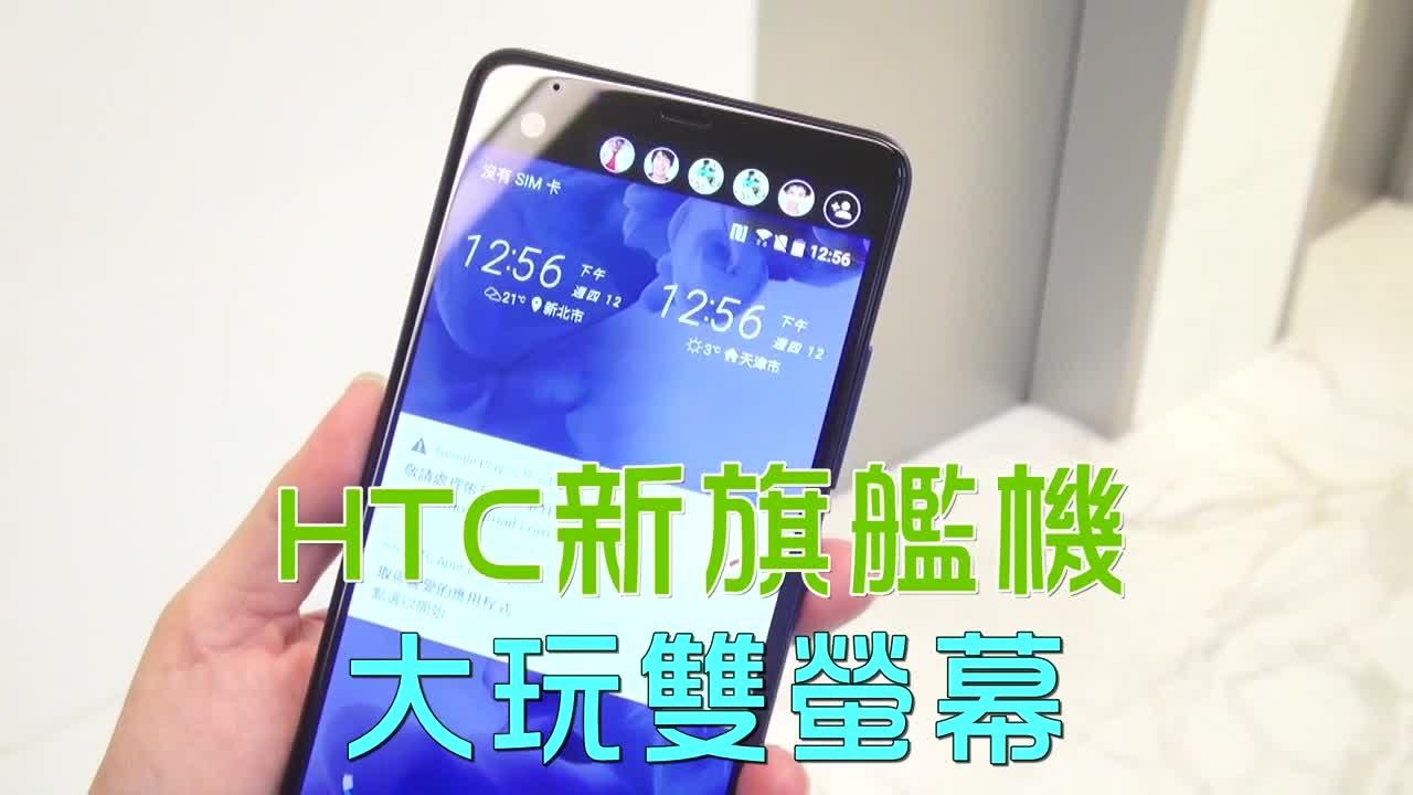 HTC新旗艦機 大玩雙螢幕 | 臺灣蘋果日報 - YouTube