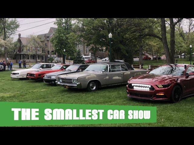 The Smallest Car Show