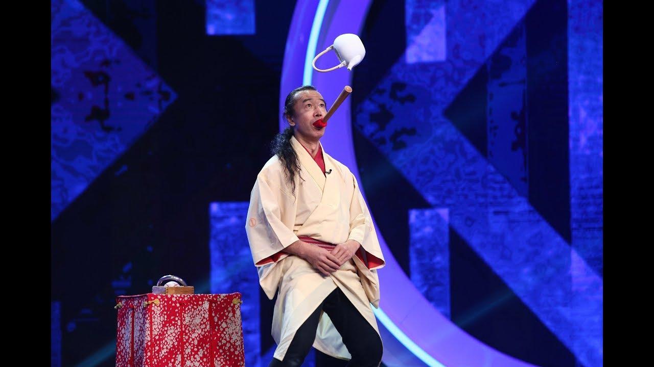 Senmaru a stârnit emoţii puternice juraţilor de la iUmor cu trucuri din arta japoneză!