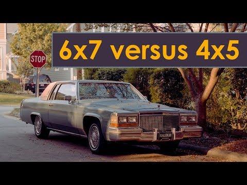 Large Format versus Medium Format (4x5 or 6x7)