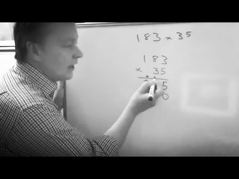 How to do long multiplication using formal method