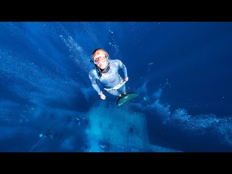 Georgina Miller Freediving the Insanely Cool Wreck of the Zenobia