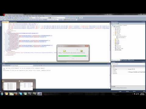 Using open source Kendo UI with Visual Studio 2010