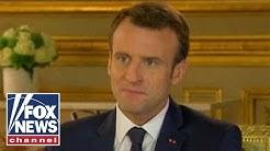 Emmanuel Macron discusses his aggressive reform agenda