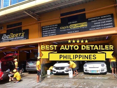 Best Auto Detailer Philippines: Big Bert's Professional Detailers Ortigas Home Depot Manila