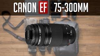 فتح صندوق و مراجعة عدسة كانون 75-300 مم | Canon 75-300mm Lens Review