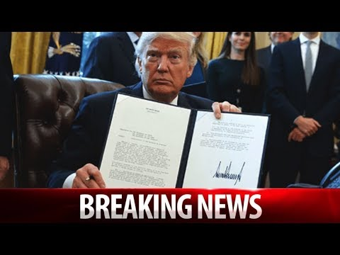 WOW! TRUMP UNLOADS GARGANTUAN EXECUTIVE ORDER! WALL STREET IS STUNNED!
