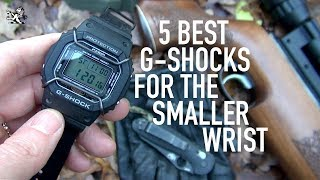 5 Best Men's Casio G-Shock Watches For The Smaller Wrist: $50 to $400+