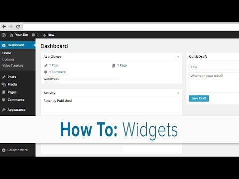Step 5: Adding Widgets – Courses & PD
