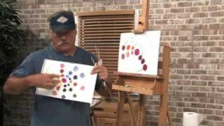 Free Art Lesson - Mike Rooney - Color Charts