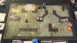 Dungeon Command: Sting of Lolth Vs Curse of Undeath - Round 3