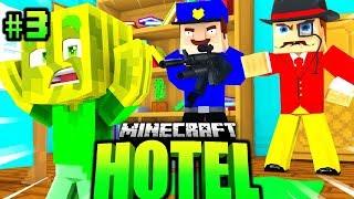 HAUSDURCHSUCHUNG der POLIZEI?! - Minecraft HOTEL #03 [Deutsch/HD]