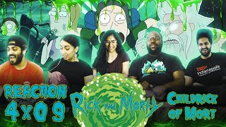 Rick and Morty - 4x9 Childrick of Mort - Group Reaction
