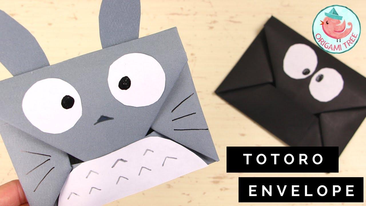 How to make a paper Envelope.Super Easy Origami Envelope Tutorial ... | 720x1280