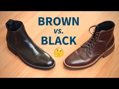 Brown Boots vs. Black Boots | Which Color Is Better For YOU?