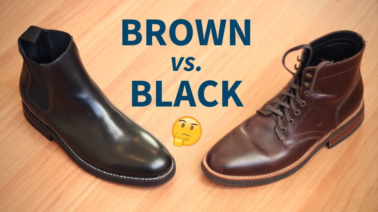 Brown Boots Vs Black Boots Which Color Is Better For You Youtube