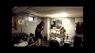 Lamb of God   Omerta drum and vocal cover