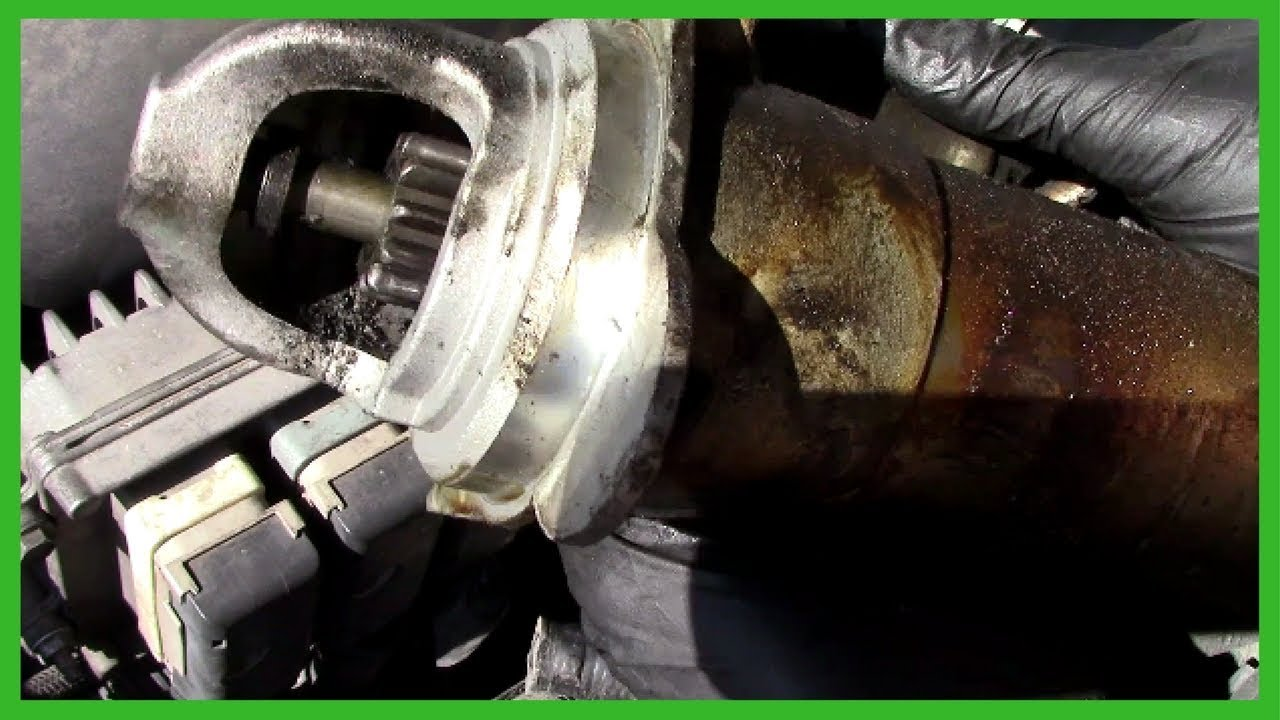 small resolution of replacing chevy trailblazer starter easy do it yourself 2002 lt 4 2 gmc envoy