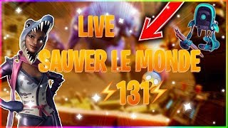 THE RETURN!! Live fortnite en save the world ps4 power 131 helpons on the game.
