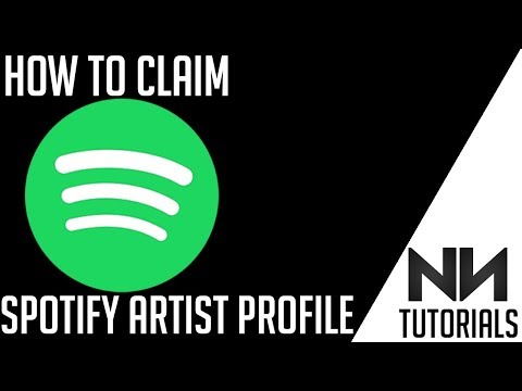 How To Claim Spotify Artist Profile