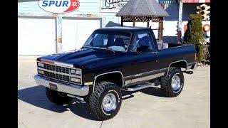 1990 Chevrolet Blazer Youtube