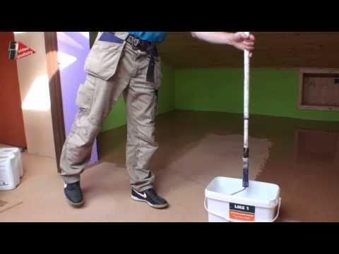 Jak brousit korkovou podlahu