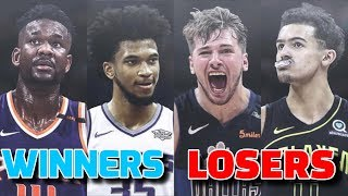 THE BIGGEST WINNERS AND LOSERS OF 2018 NBA DRAFT