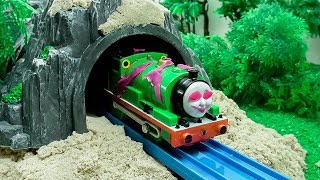 Thomas & Friends Toy Trains Percy is Ghost - Train Toys for Children