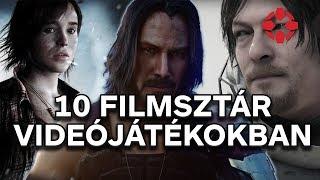 10 filmsztár, akik videójátékokban szerepeltek