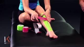 kt tape shin splints 肌內效貼布 脛骨