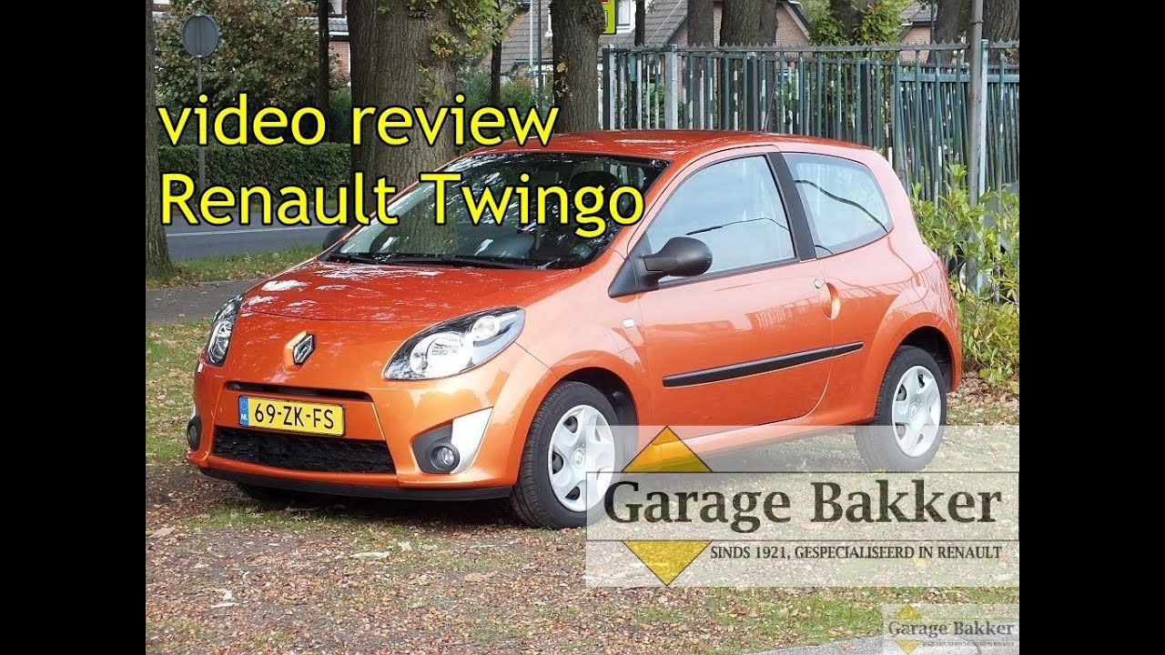 Video Review Renault Twingo 1 2 60 Dynamique 2008 69 Zk Fs Youtube