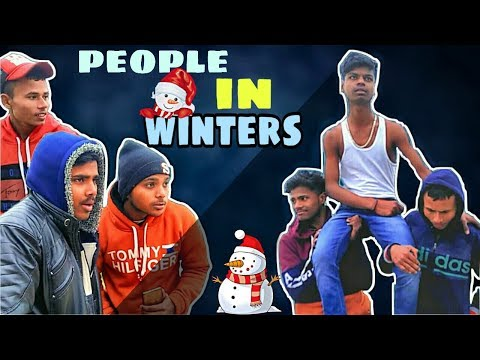 People In Winter | Paagal Youtubers  | PY  | Comedy Video
