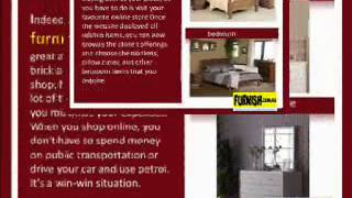 Online Furniture Store Shopping Convenience