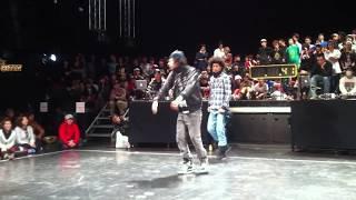 Juste Debout Japon LES TWINS preselection 2011. 1. 11 tokyo hip hop