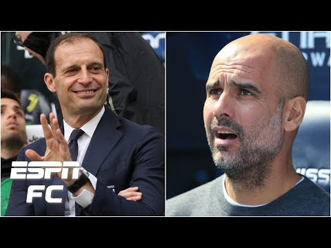 Pep Guardiola or Max Allegri: Who's the better manager in Europe? | Champions League