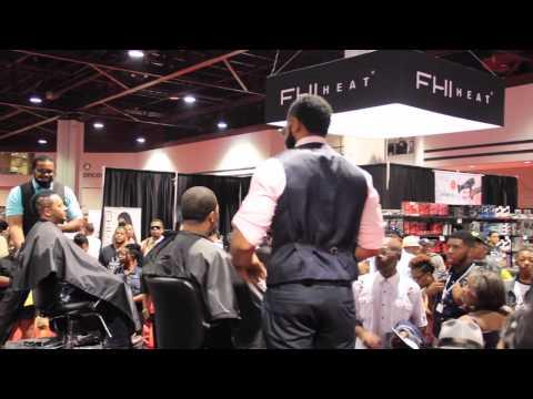 KLIP'S Barbershop [Bronner Bro's Hair Show 2014] ATL