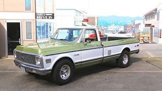 "1971 Chevrolet C-20 Fleetside Pickup "" SOLD ""  Drager's International Classic Sales  206-533-9600"