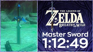 Breath of the Wild: Master Sword Speedrun in 1:12:49 w/ Heart Duplication - World Record 3/22/19