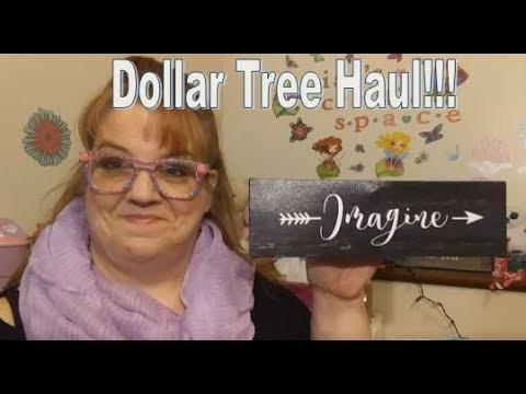 Dollar Tree Haul  New Vinyl Signs!!!
