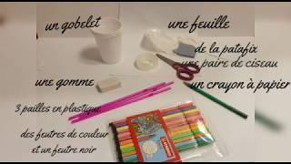 """""""Atelier créatif : Marionnette"""" - proposé par Diegui de la Maison de l'enfance Tony Lainé"""
