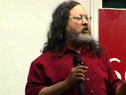 richard stallman qu 39 est ce que le logiciel libre youtube. Black Bedroom Furniture Sets. Home Design Ideas
