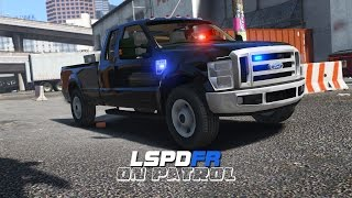 lspdfr day 251 unmarked f350 bait car operation