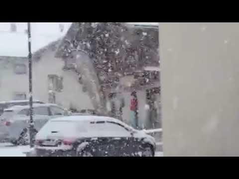 FURIOSA nevicata a LIVIGNO: incredibile!