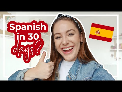 Can I Learn Spanish in 30 DAYS? 🇪🇸 | Becoming Fluent In A Month!