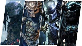 Predator Evolution in Movies (2018)