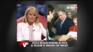 Cecilia Bolocco recuerda su visita al palacio de gobierno con Pinochet